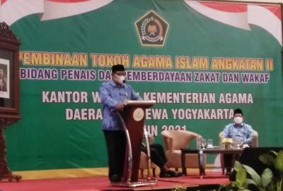 Silaturahmi Tokoh Agama Islam Kanwil Kemenag DIY, Rajut Persatuan dan Kesatuan NKRI
